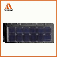 roof integrated solar panel tiles