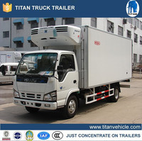 Refrigerated van truck , japanese used freezer truck