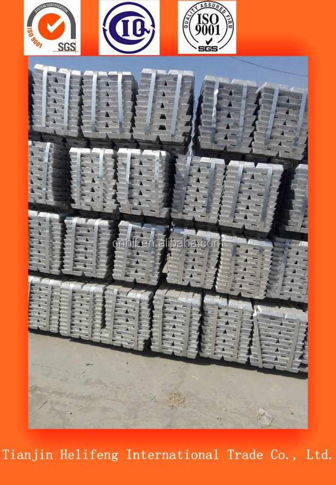 ore concetrate pure lead Pb 99.97% 99.98% 99.99% sales with high quality