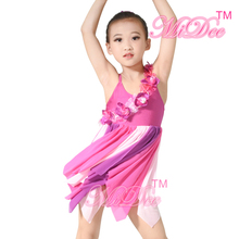 Modern Dance Costume Children Lyrical Dance Costume Dress For Latin