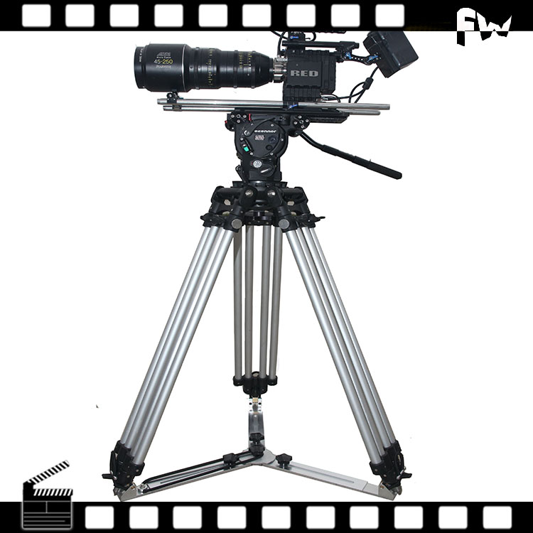 China manufacturer professional camera stand ball head tripod