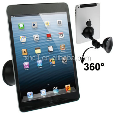 360 Degree Rotation Universal In-car Mobile Holder with Two Suckers for iPad mini