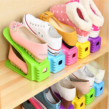 Durable shoe rack for home / double layer plastic shoe rack / shoe shelf shoe organizer