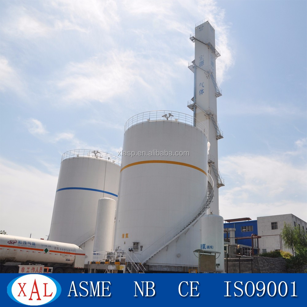 High purity liquid oxygen and liquid nitorgen air separation plant