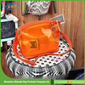 High Quality Ladies Fancy Jelly Pvc Bag With Zipper