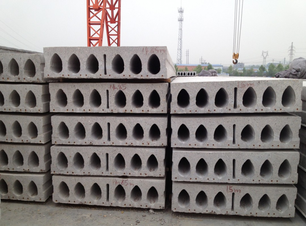 BV Precast Concrete Hollow core slab machine for prefabricated prefab house plans