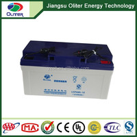 Deep cycle lead acid/agm solar battery 12v65ah for power station