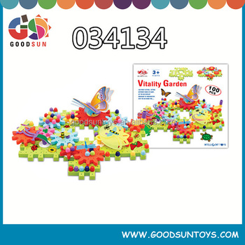 High quality children plastic building blocks with EN71 test report