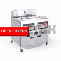 Potato chips frying machine/potato chips fryer/stainless steel oil fryer