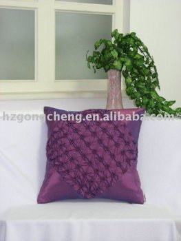 polyester satin cushion