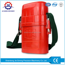 Compressed mining self rescuer with factory