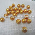 gelatin shell PEG filled paintballs 0.68inch caliber China manufacture