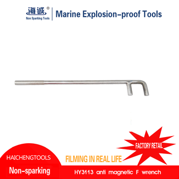 Beryllium copper Non sparking striking slogging spanner/Safety tools