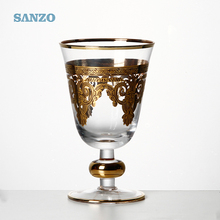 Sanzo Custom Glassware Manufacturer machine made red wine glass drink holder