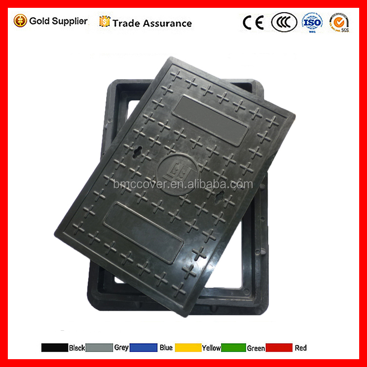 Square FRP plastic cable trench covers