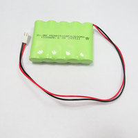 Rechargeable Nimh Battery AA 1500mah 6v