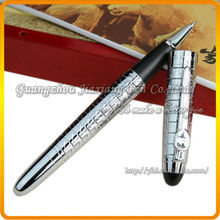 JHR-CS195 fancy jionhao high quality stainless steel free ink roller pen