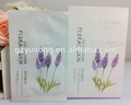 Chummy Floral Skin series Provence lavender super hydrating essencial oil mask