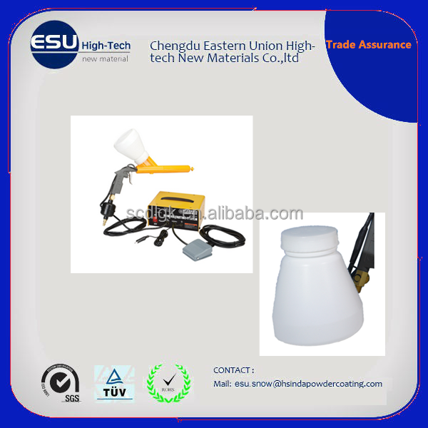 Cheap test electrostatic powder coating system manual portable spray gun machinery