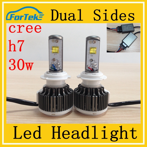 LED light h4/h7 3000Lm motorcycle LED headlight 30w led front headlight
