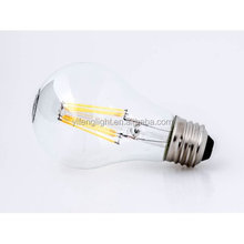 LED Filament 4W Light Bulb, Edison Screw, E27 Warm White Non-dimmable