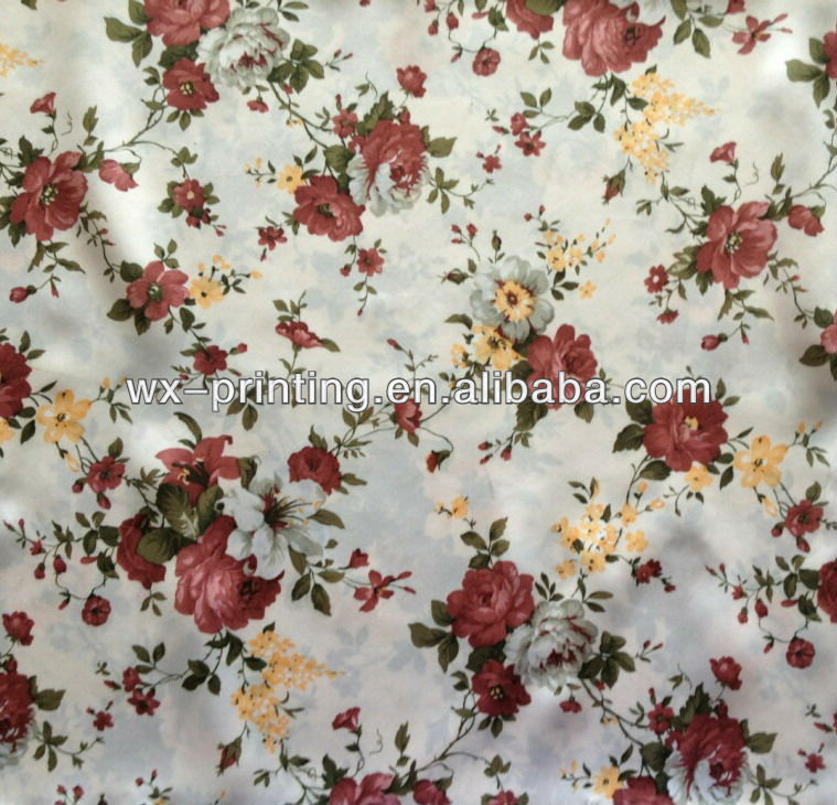 New 2013 poly bed cover heat transfer printing fabric heat transfer