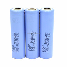 High capacity Samsung 18650-30A 3000mAh 3.7V Samsung 30A 3000mAh 18650 li-ion rechargeable battery use for flashlight