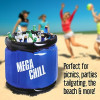 Yard Play Large Inflatable Cooler (Holds 40 Cans)