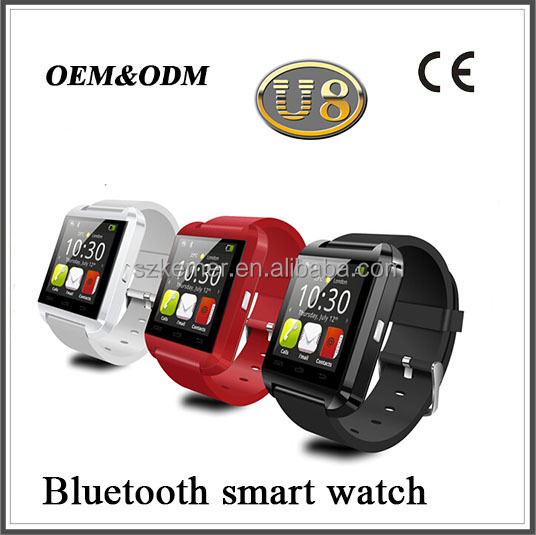 intelligent wrist watch bluetooth watches with thermometer
