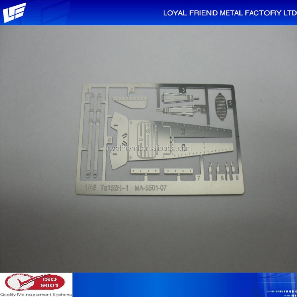 Made-to-order Metal Photo Etched Train Auto Part Models