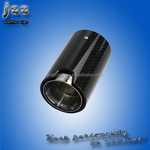 JZZ Custom Carbon Fiber Akrapovic exhaust sports tips REMUS exhaust pipe for M3 E92 exhaust system