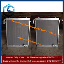 Factory Price Aluminium Hydraulic Oil Cooler Radiator for Excavator China Manufactures