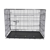 Large commercial modular double steel iron mesh dog cage for sale cheap