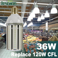 LED Street Light High Luminance 36W,5Years Warranty,Enclosed Fixture Usable,360Degree,UL&CE Listed:Replace 105W CFL Light