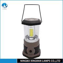 Led Solar Camping Light , Plastic Rechargeable Lantern , Camping Equipment