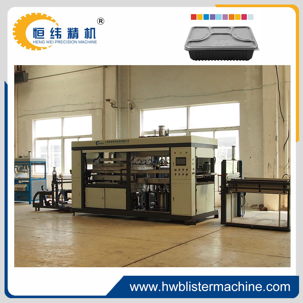 full automatic plastic take away food box making machine supplier