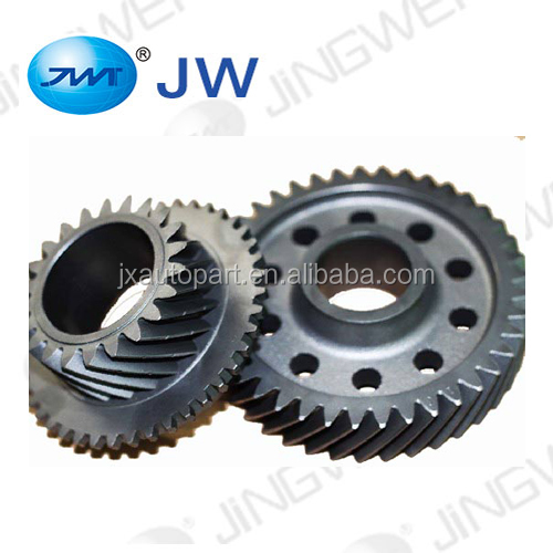 Transmission parts helical gear mechanical spare parts for gionee