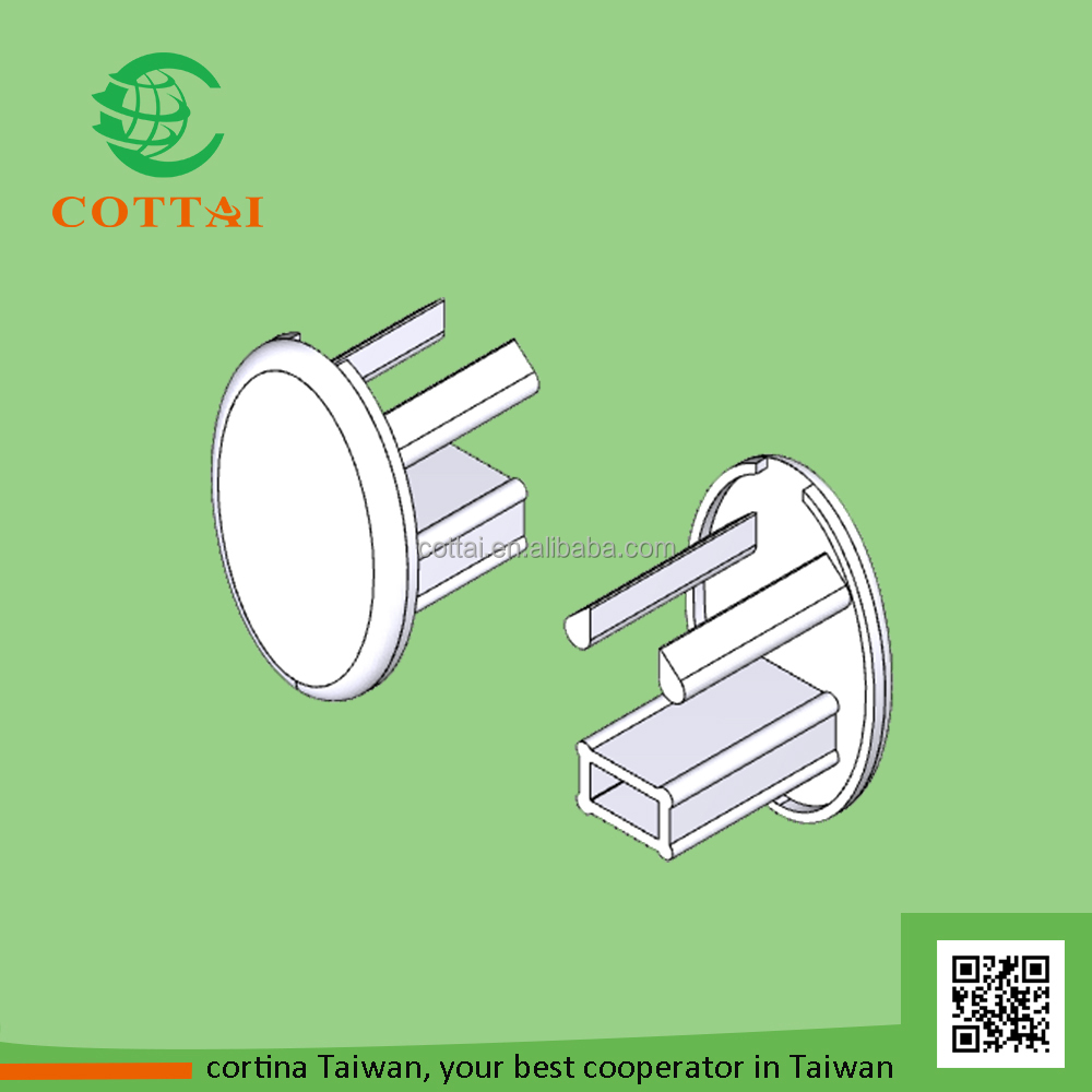 COTTAI rolling shutter mechanism price curved pair blind end cap
