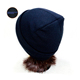HZM-13244013 Thinsulate warmer man popular beanie knitted double knit pattern fashion ladies winter hat