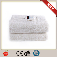 2016 new portable remote control flannel electric heating blanket from china factory with low price