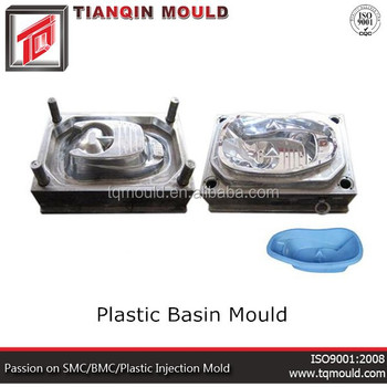Plastic mold and compression mold maker