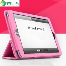 OEM ODM PU flip leather case for ipad mini case