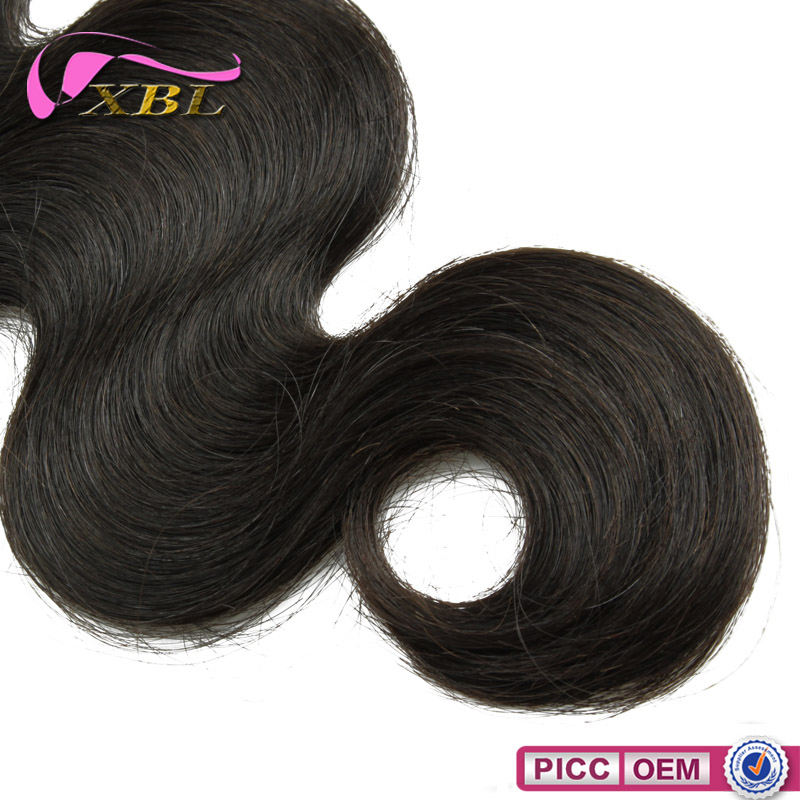 Tangle free 100% human hair can be dyed body wave virgin Malaysian hair weave