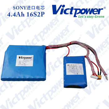 Victpower 60v electric motorcycle battery 4.4ah lithium ( 20-28Amp)