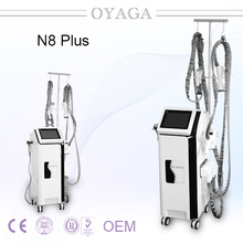 Fat Killer Vacuum Roller Slimming Machine/Cavitation Velashpe/Velashape anti cellulite beauty equipment N8+2