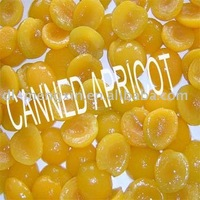 canned apricot (canned food)