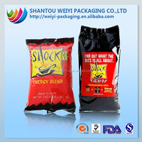 Hot ! Printed plastic corn chips packaging