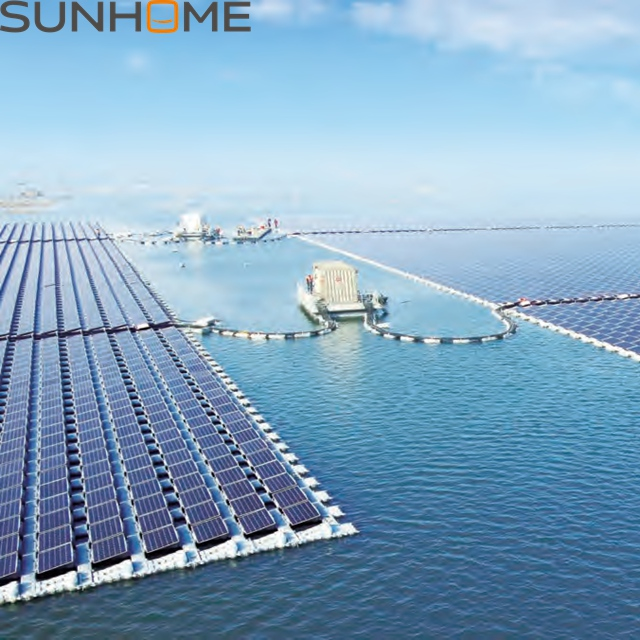SUNHOME factory direct sale cost of floating solar panels