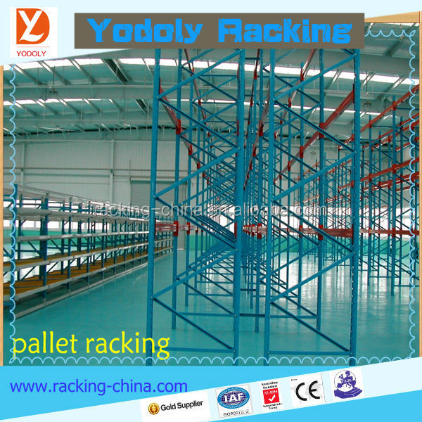 chinese factory directly sale low price easy to pick up pallet racking