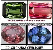 Quartz crystal - Color Change Gems